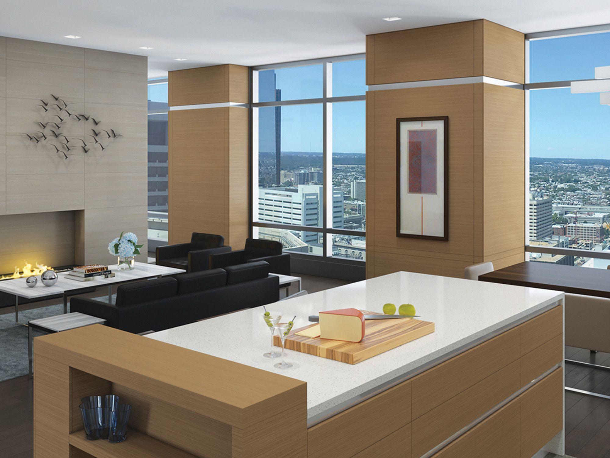 K Yoder Design Luxury High Rise Condominium